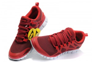 Nike Free 3.0 V3 Mens Shoes red