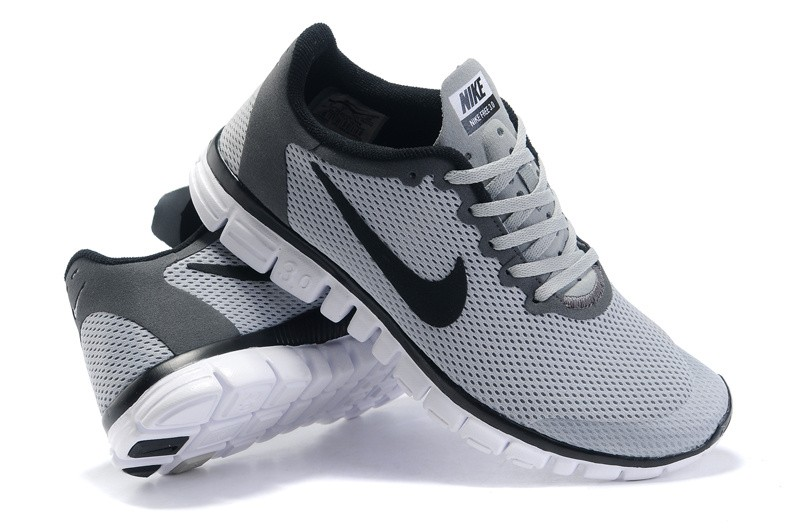 innovative design 923da a53bb Nike Free 3.0 v2 Mens Shoes grey black