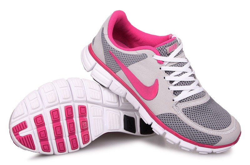 Nike Free 7.0 V2 Womens Running Shoes Grey Pink