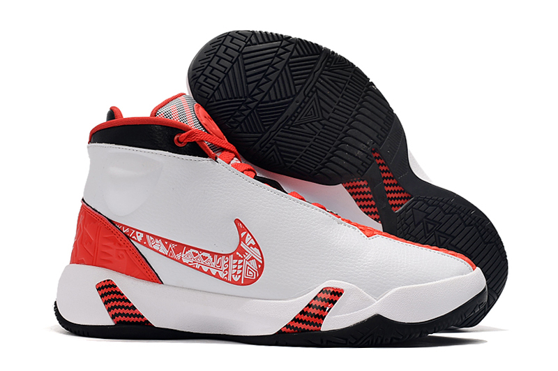 Nike Heritage 2019 N7 White Red Black Shoes