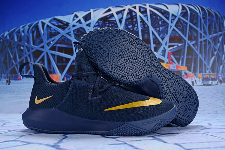 Nike Hyperdunk 2017 Low TB Blue Yellow Shoes