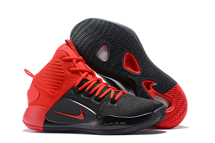 Nike Hyperdunk X Black Red Shoes