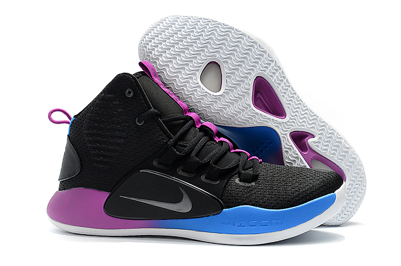 Nike Hyperdunk X EP Black Blue Purple Shoes