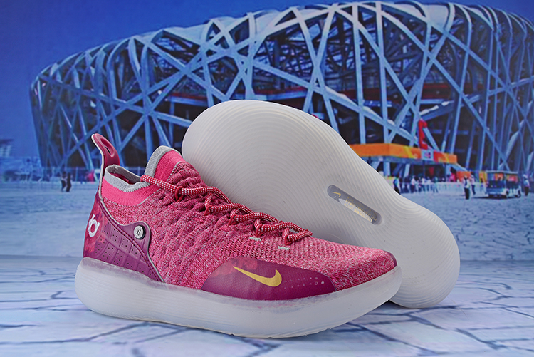 9185ceba041 Nike KD 11 Breast Cancer Pink Shoes  18kobe71409  -  82.00 ...