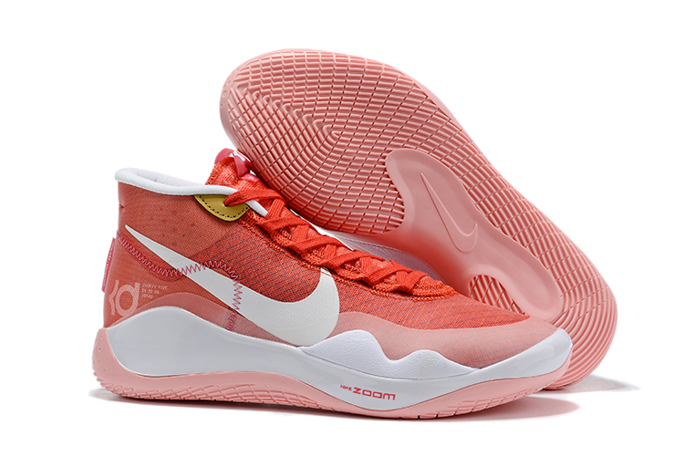 Nike KD 12 Redding Orange White Shoes