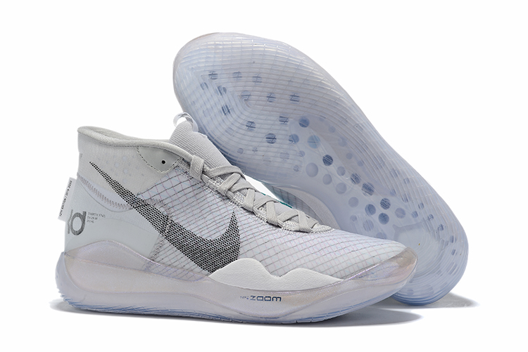 Nike KD 12 Wolf Grey Basketball Shoes