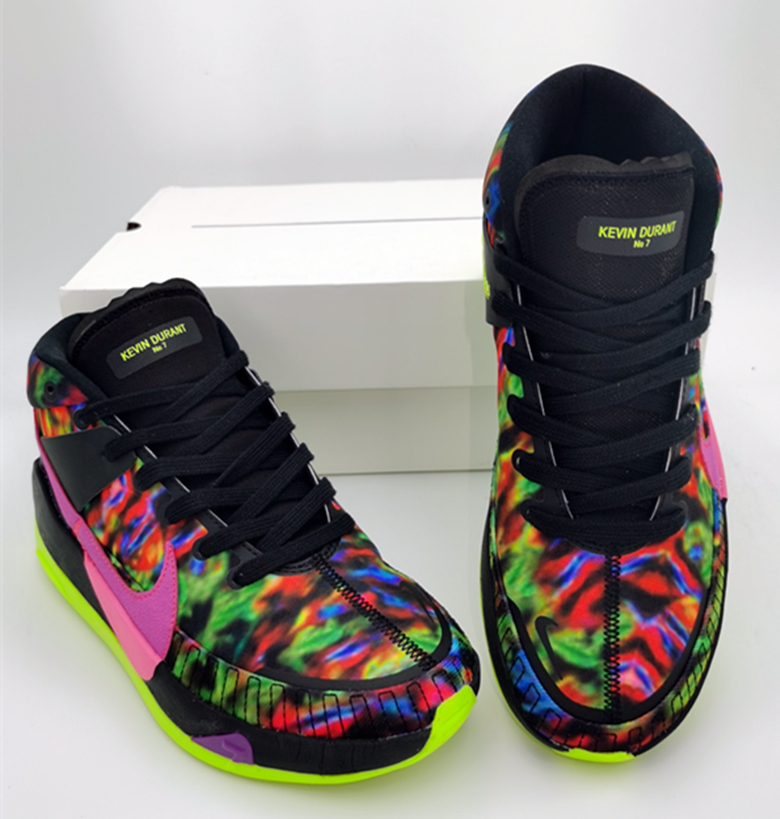 Nike KD 13 Black Colorful Shoes