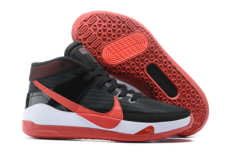 Nike KD 13 Black Red White Shoes