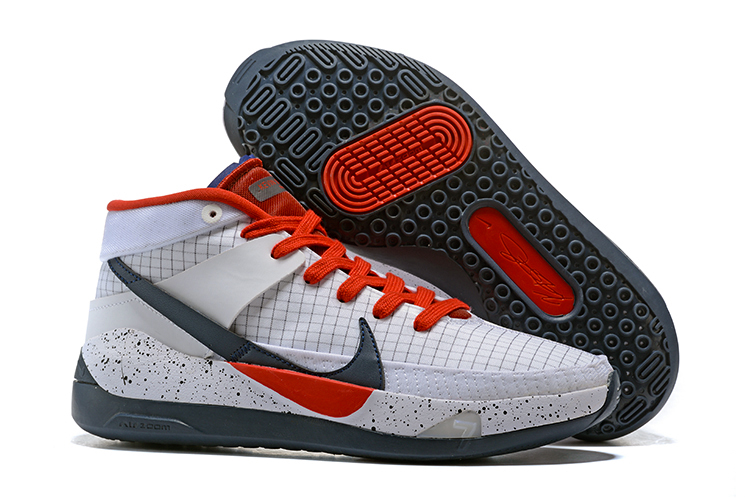 Nike KD 13 White Black Red Shoes