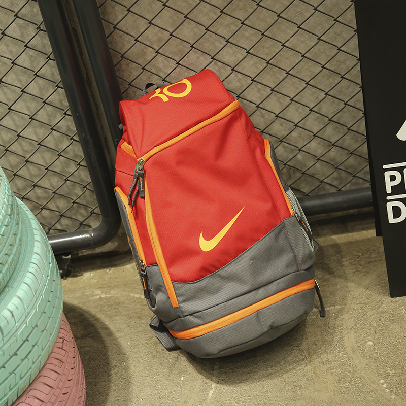 Nike KD Backpack Reddish Orange Yellow Grey