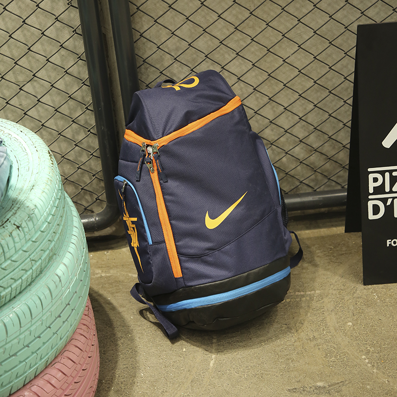 Nike KD Backpack Sea Blue Orange Jade