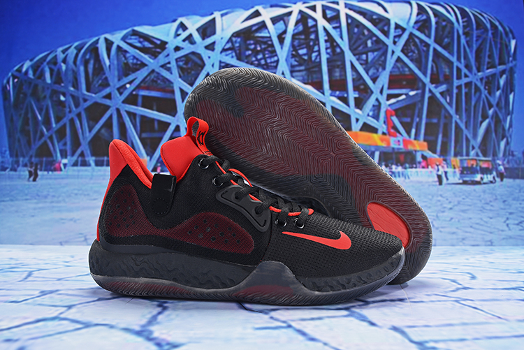 Nike KD Trey 6 Black Red Shoes
