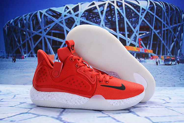 Nike KD Trey 6 Red White Shoes