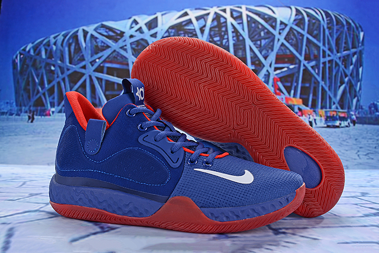 Nike KD Trey 6 Royal Blue Red Shoes