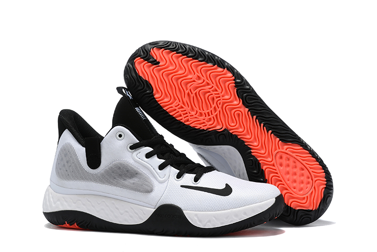 Nike KD Trey 8 White Black Red Shoes