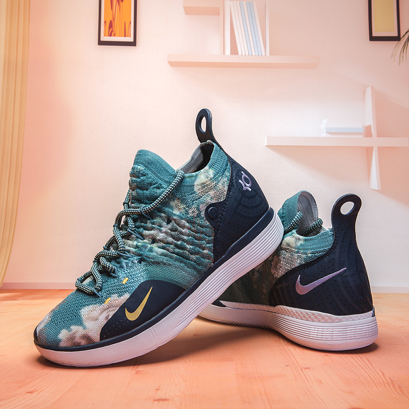 Nike Kevin Durant 11 Flor Print Green Shoes