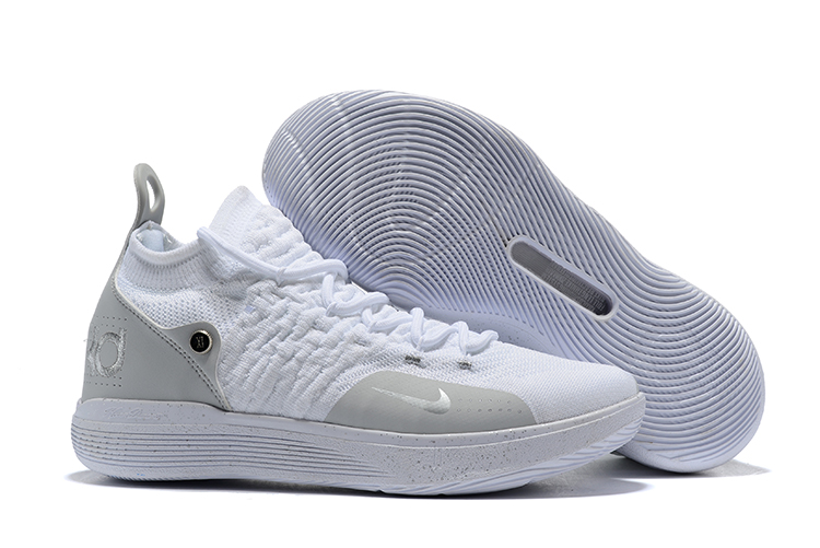 Nike Kevin Durant 11 White Grey Shoes