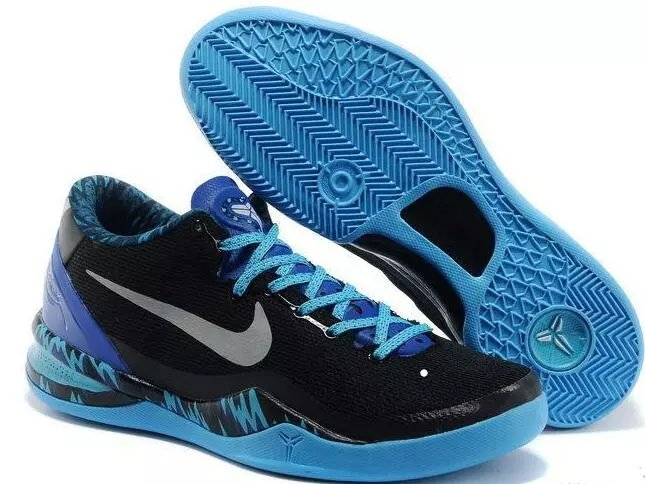 Nike Kobe 8 Black Blue Shoes