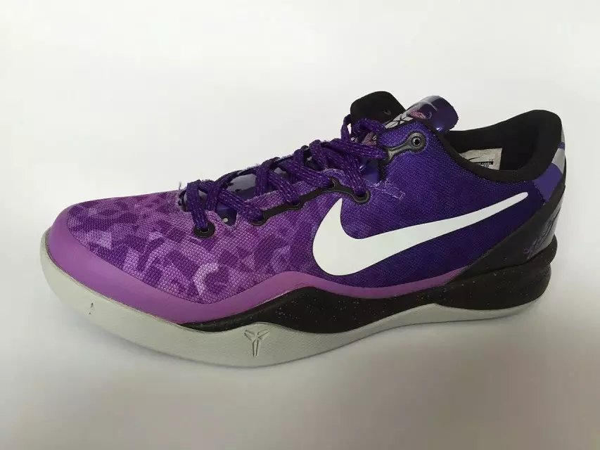 Nike Kobe 8 Purple Black White Shoes