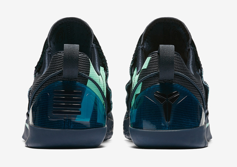 Nike Kobe AD NXT Mambacurial Black Jade Blue Shoes