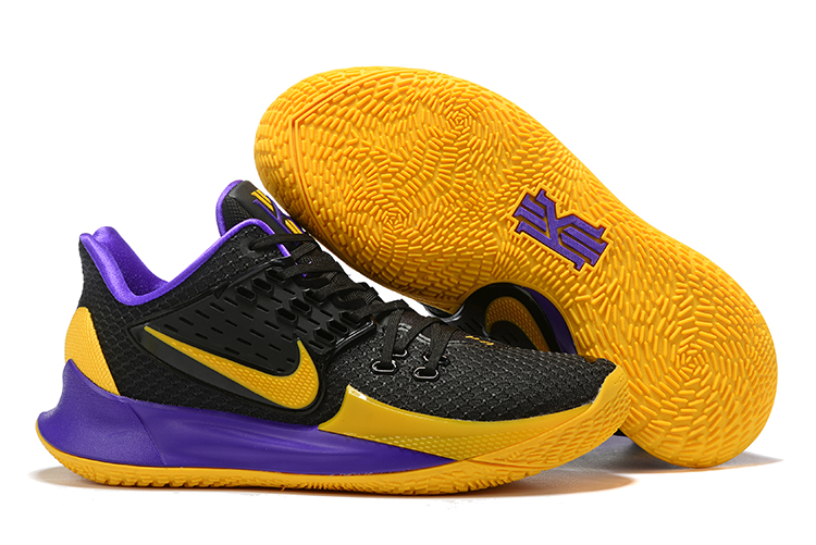 Nike Kyrie 2 Low Black Yellow Purple Shoes