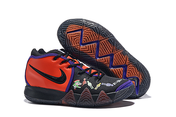 Nike Kyrie 5 Black Purple Red Colorful Shoes
