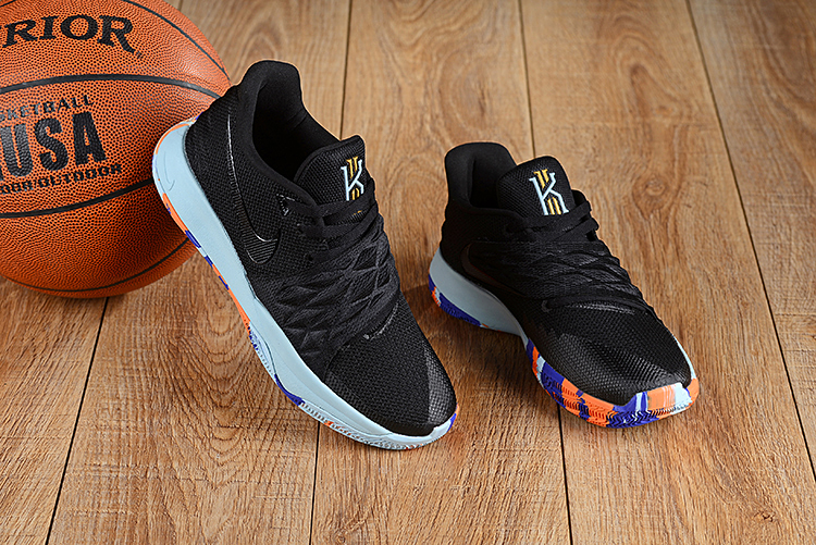Nike Kyrie 4 Low Black Colorful
