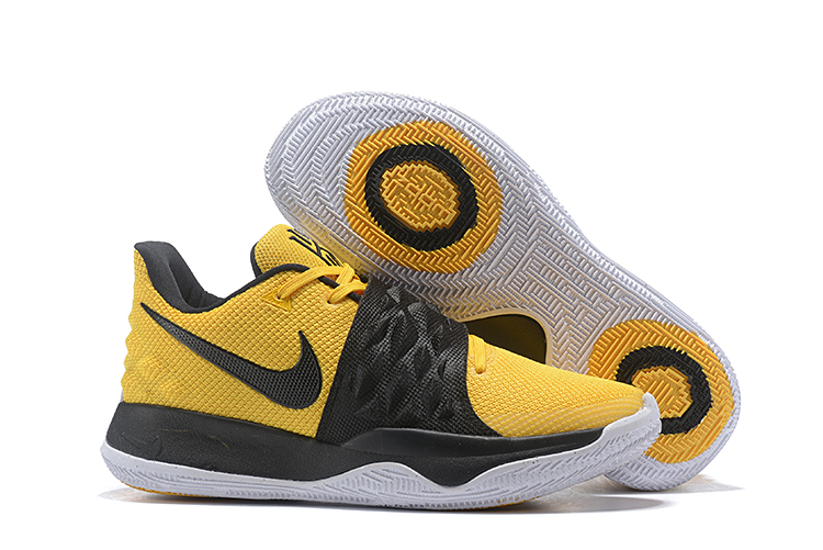 Nike Kyrie 4 Low Yellow Black Shoes