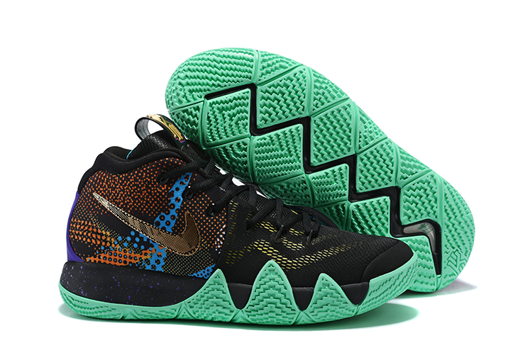 Nike Kyrie 4 Mamba Black Green Shoes