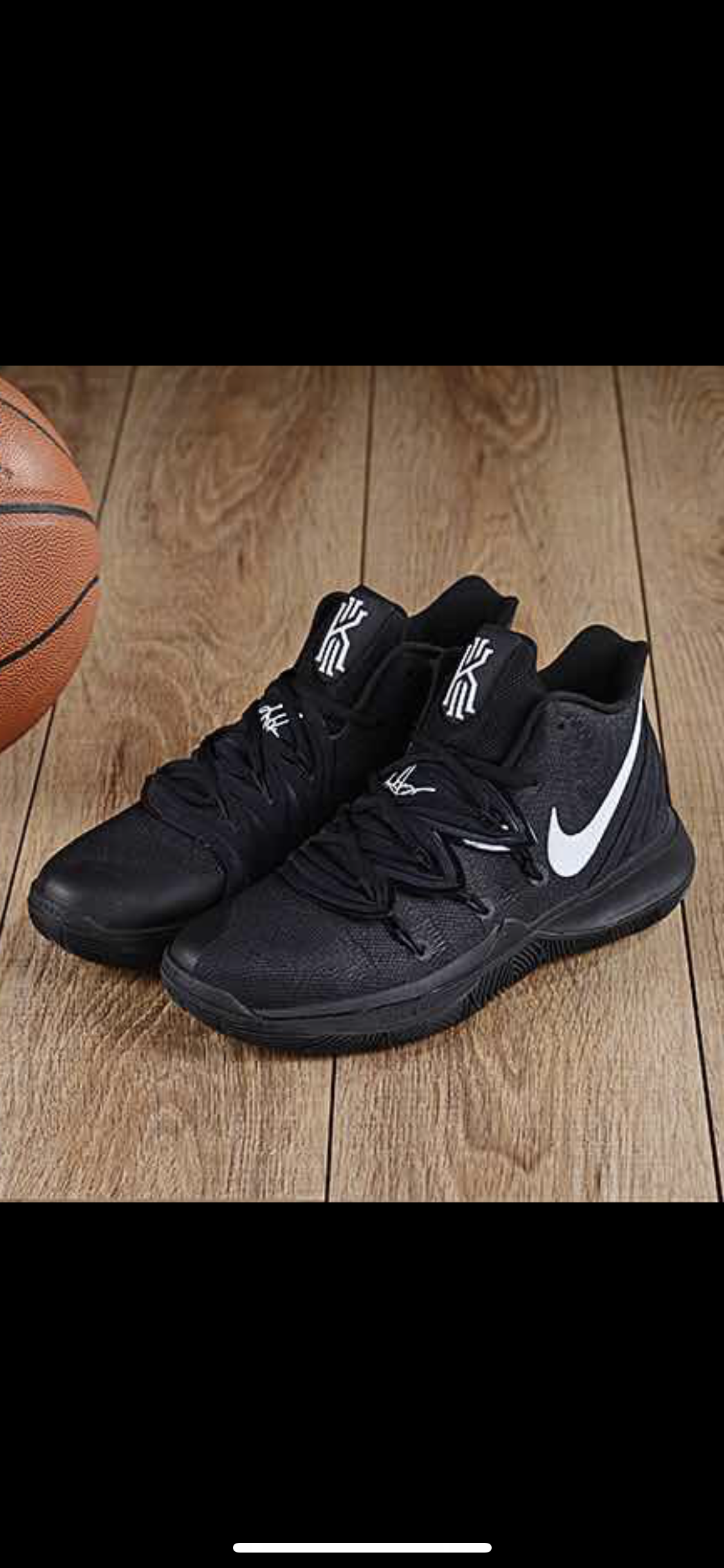 Nike Kyrie 5 Cool Black Shoes