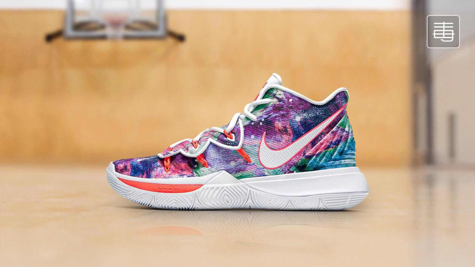 Nike Kyrie 5 Flor Colorful Shoes