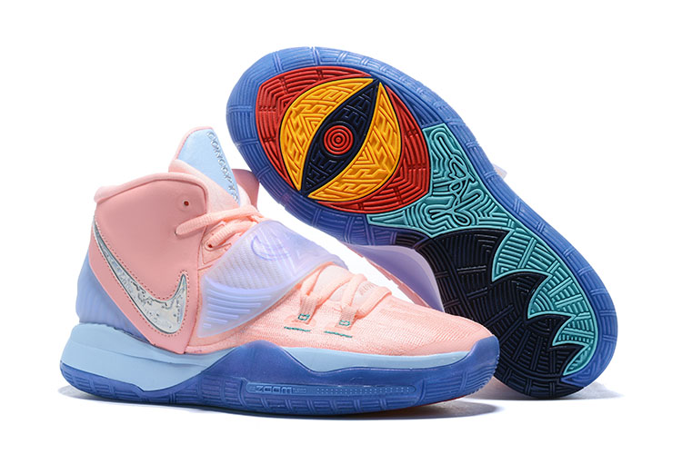 Nike Kyrie 6 Pink Blue Shoes