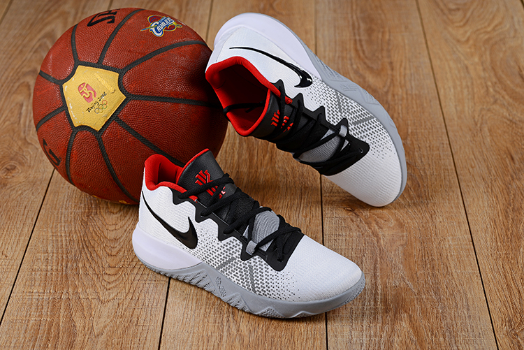 Nike Kyrie FlyTrap White Grey Black Red Shoes