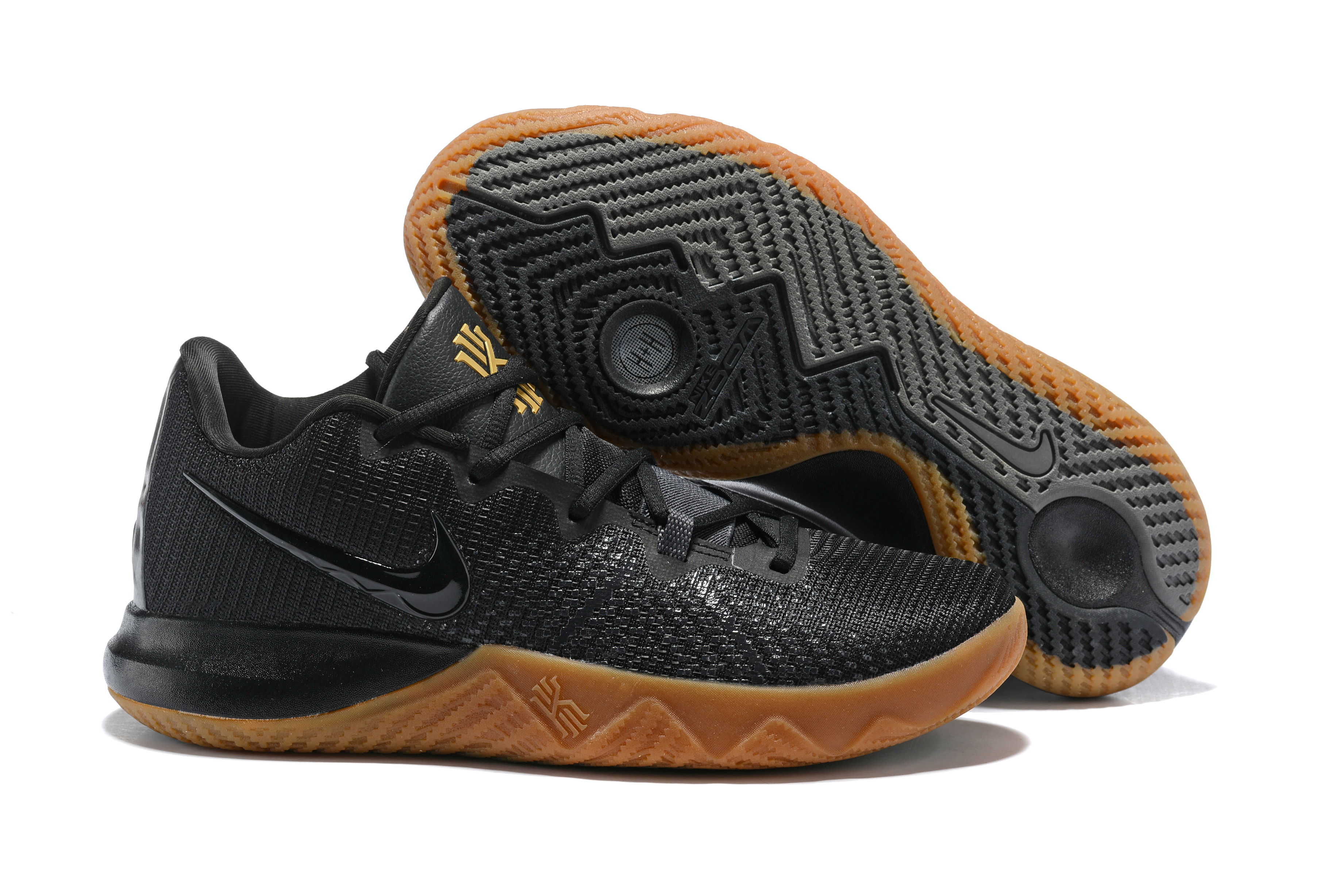Nike Kyrie Flytrap Black Brown Sole Shoes