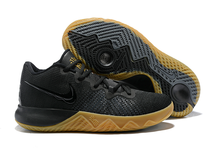 Nike Kyrie Flytrap Black Gum Sole Shoes