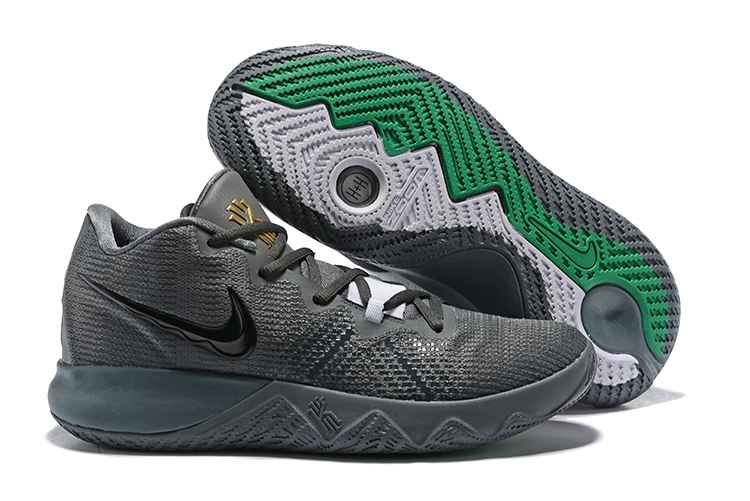Nike Kyrie Flytrap Grey Gold Shoes