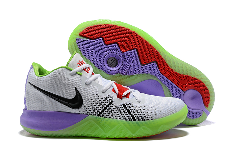 Nike Kyrie Flytrap White Black Purple Green Shoes