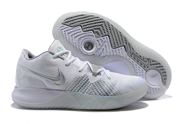Nike Kyrie Flytrap White Silver Shoes