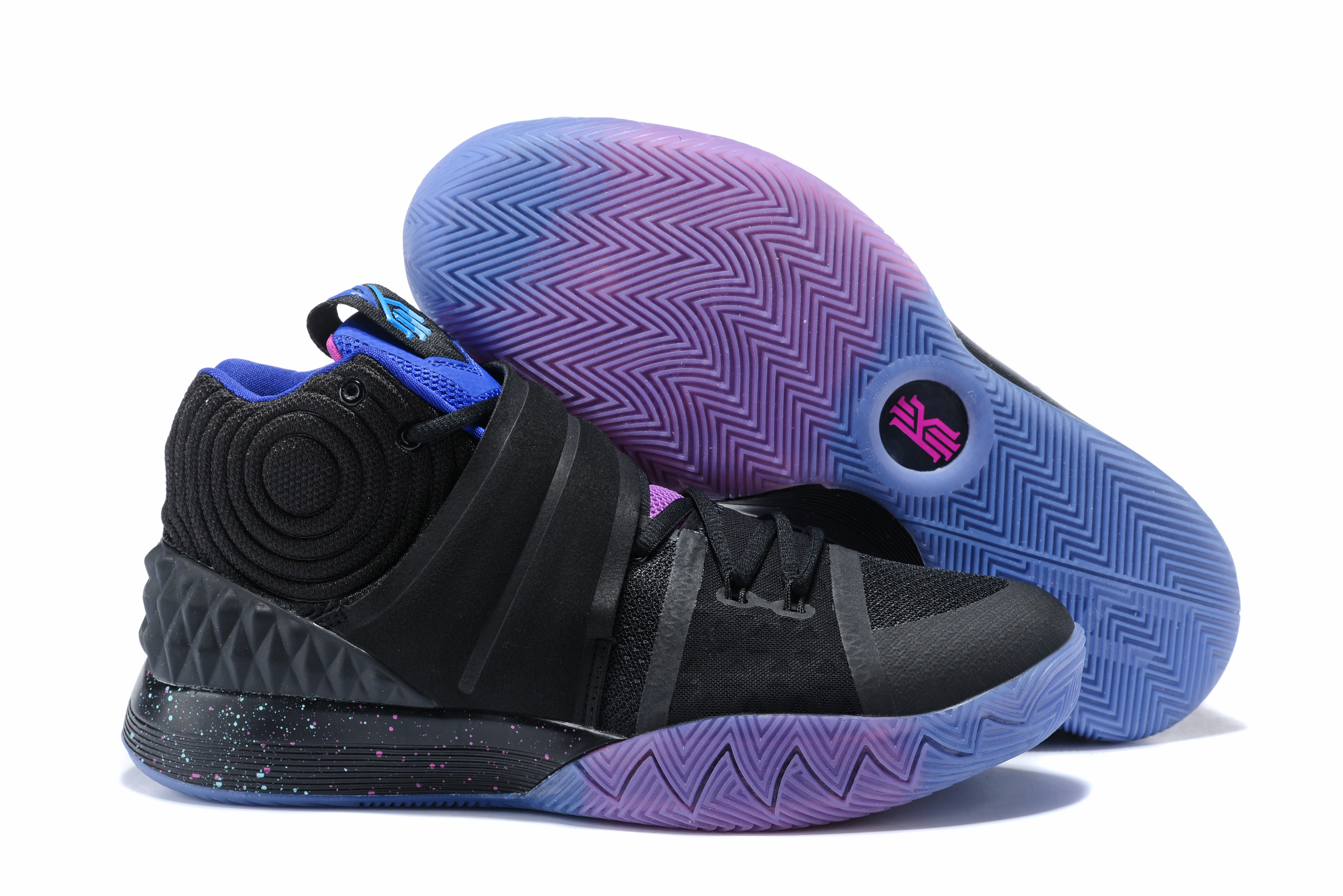Nike Kyrie S1HYBRID Black Purple Shoes