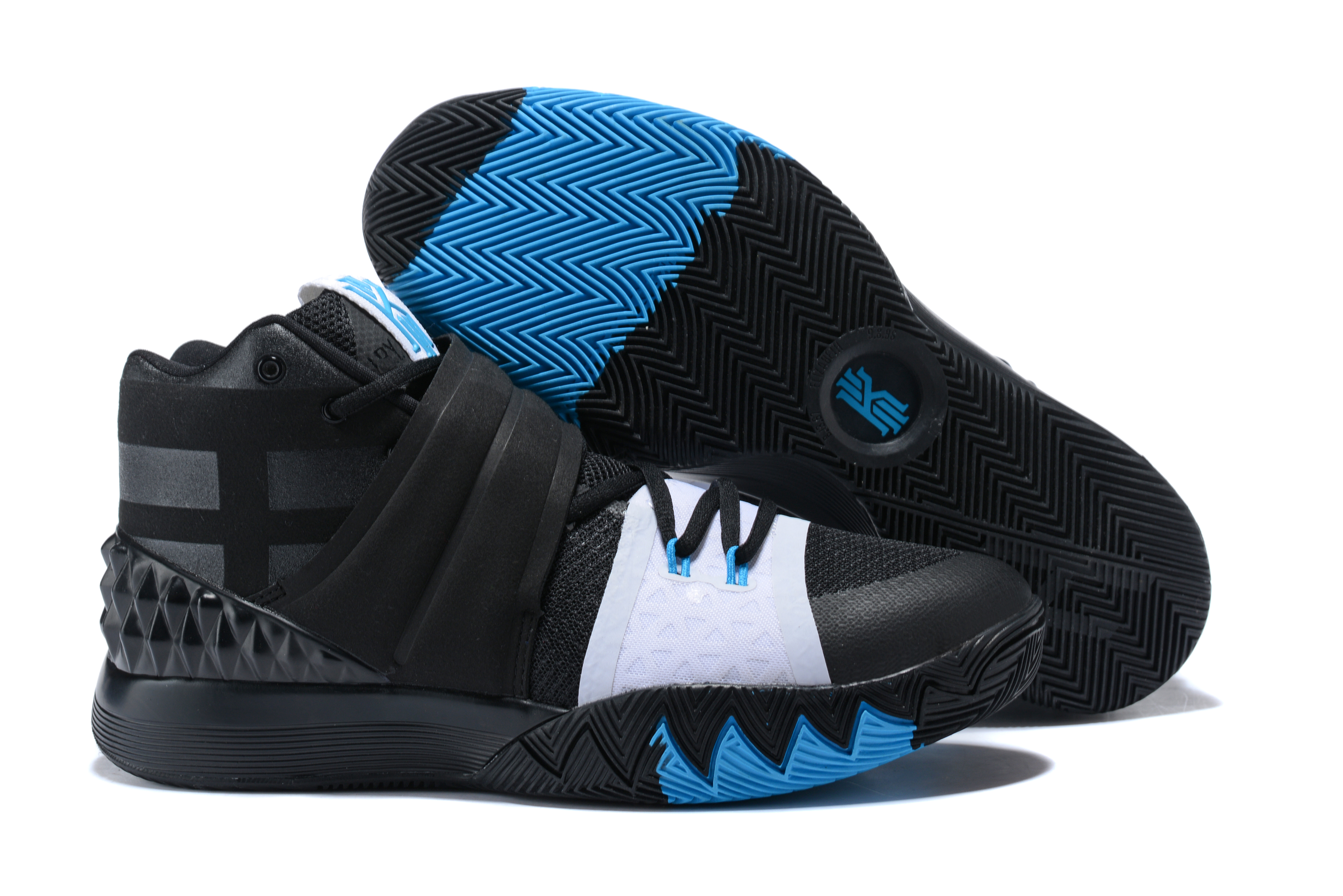 Nike Kyrie S1HYBRID Black White Blue Shoes