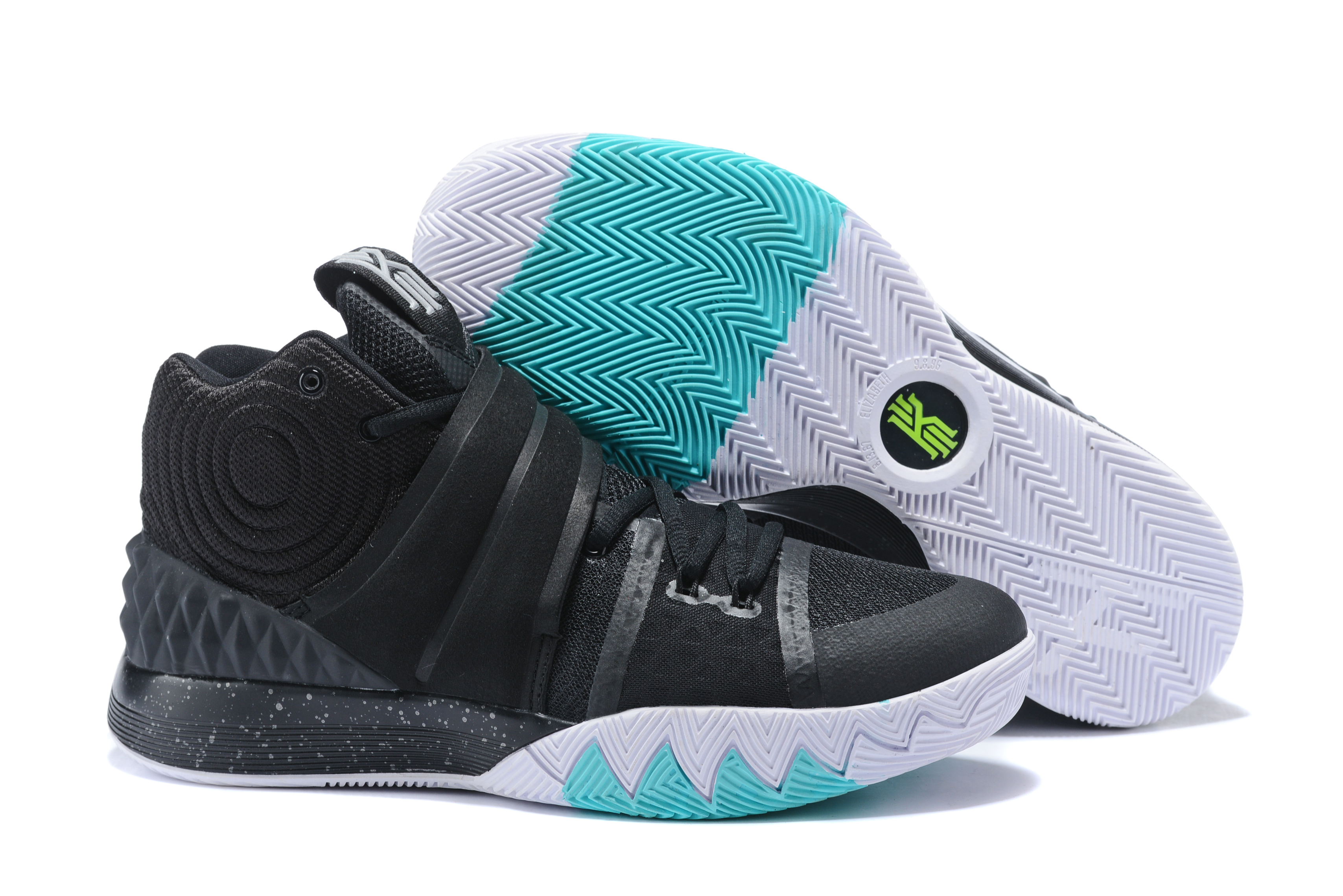 Nike Kyrie S1HYBRID Black White Jade Shoes