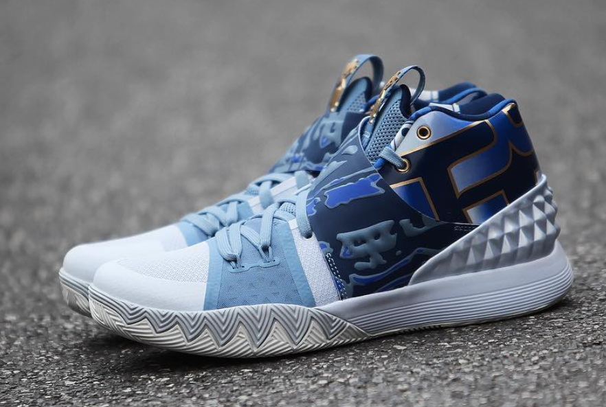 Nike Kyrie S1HYBRID Blue Silver Shoes