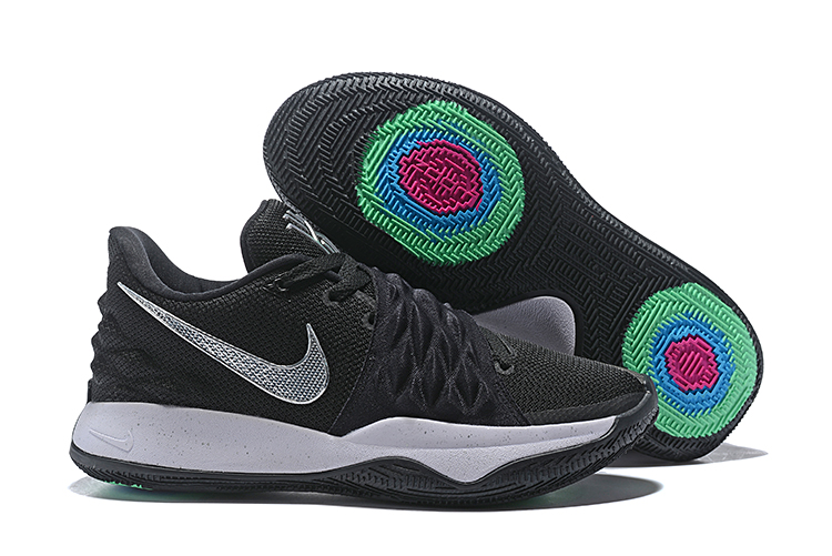 Nike Kyrie S1HYBRID Low Black Silver Shoes