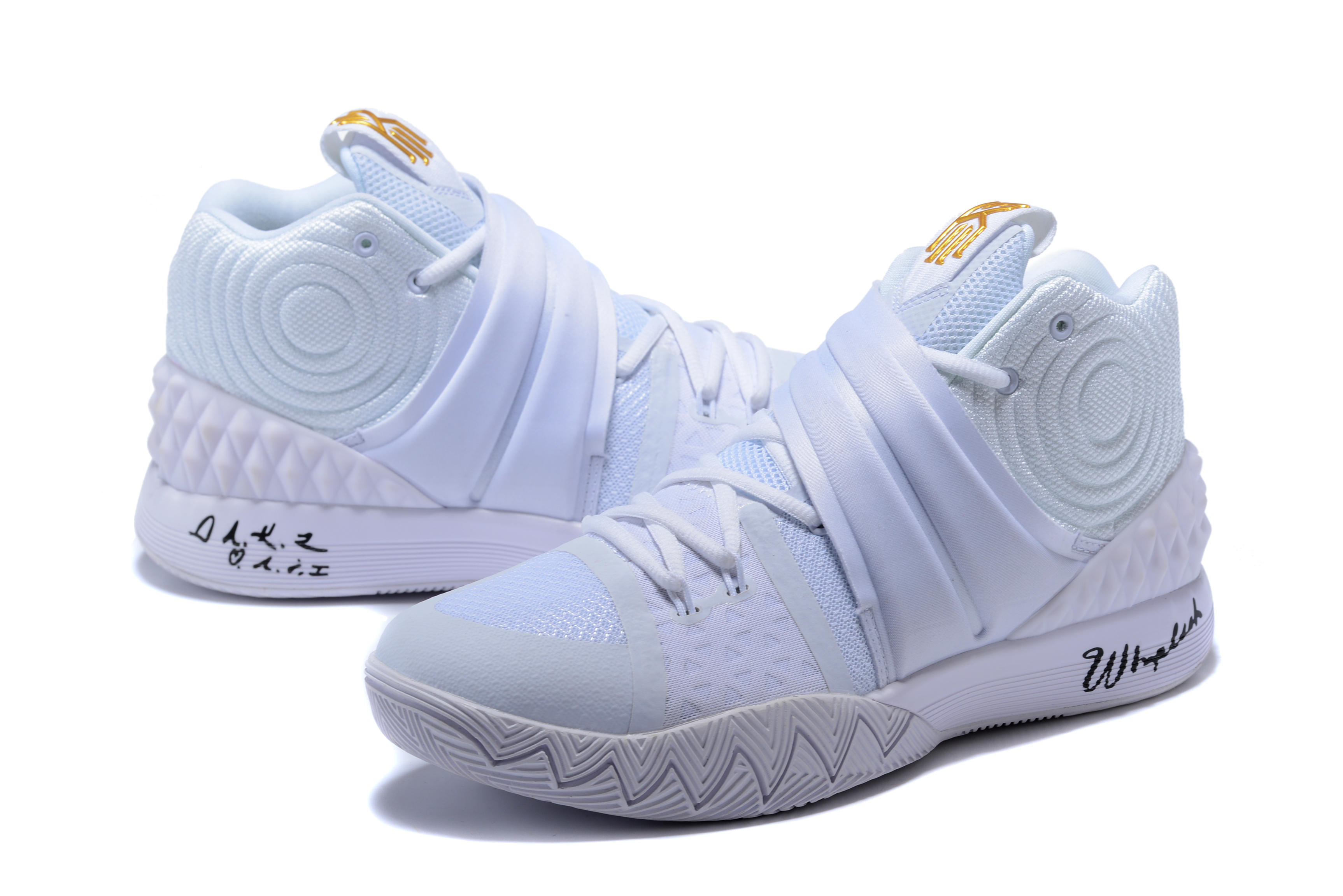 Nike Kyrie S1HYBRID White Gold Shoes