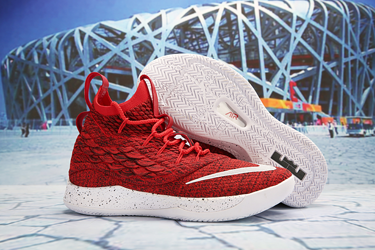 Nike LeBron 15.5 Red Shoes