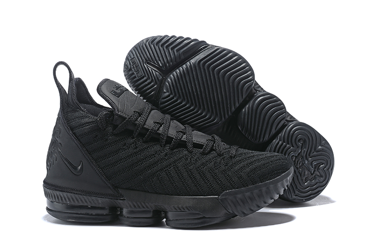 Nike LeBron 16 Cool Black Shoes