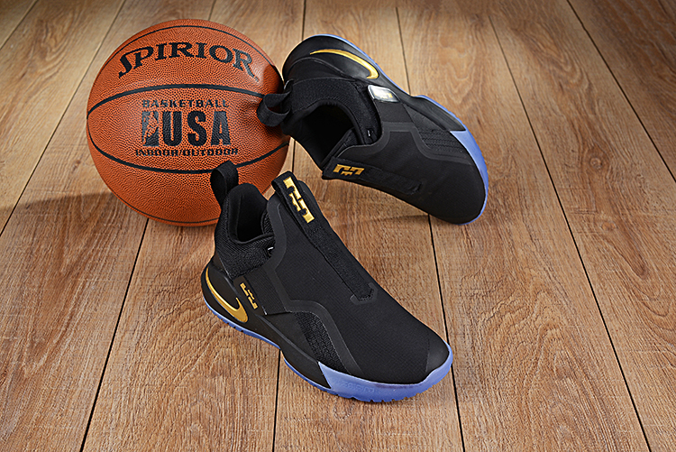 Nike LeBron Ambassador 11 Black Gold Shoes