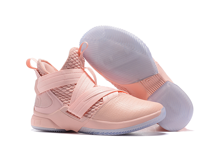 Nike LeBron Soldier 12 Breast Cancer Pink Shoes