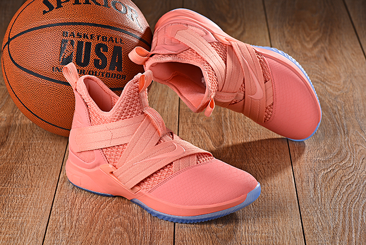 Nike LeBron Soldier 12 Pink Shoes