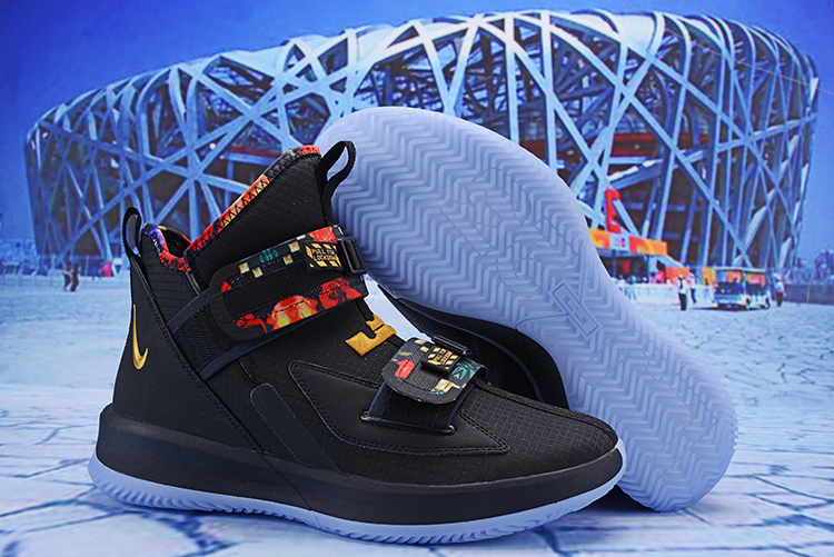 Nike LeBron Soldier 13 Black Colorful Shoes